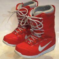 Nike SB Kaiju Zoom Snowboarding Boots 586532 06 Size 8.5 qs W 10.5 lunarendor