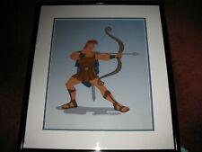 "Walt Disney Sericel Hercules ""Portrait of a Hero"""