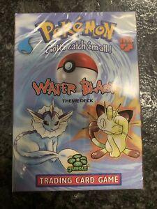pokemon  water blast theme deck TCG Factory Sealed