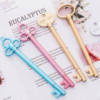 8pcs Cute Kawaii Color Key Black Gel Ink Roller Ball Point Pen School Kids Pens