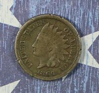 1864 INDIAN HEAD COPPER CENT COLLECTOR COIN . FREE SHIPPING