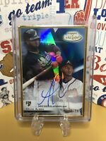 🔥2018 Topps Gold Label Ozzie Albies Framed Auto RC Blue /50 Atlanta Braves🔥