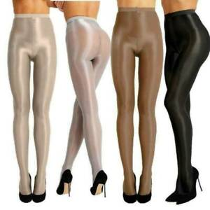 Leggs Sheer Seamless Pantyhose Sheer to Waist Medium Support Shiny Glossy Tights