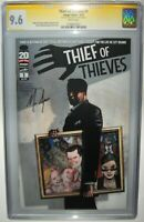 THIEF OF THIEVES #1 Nick Spencer SIGNED Autographed SS CGC 9.6 Image Comics 2012