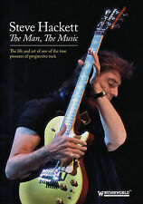 STEVE HACKETT of GENESIS New Sealed 2017 COMPLETE HISTORY,  BIOGRAPHY & MORE DVD