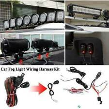 LED Work Light Bar Wiring Kit Harness Fog Lamp Offroad w/ Fuse & Relay Switch