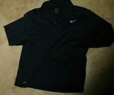 New listing Embroidered Navy Blue NIKE Fit-Dry Collared Polo Shirt Men's XL Extra Large