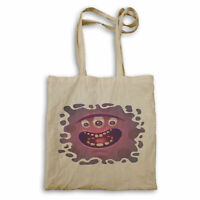 Cute Funny Crazy Monster Tote bag gg514r