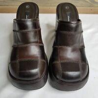Xhilaration Block Heel Slide In Clogs US 6.5