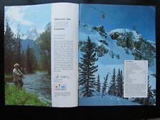 1960s-1970s This Is Big WYOMING Vacation Travel Booklet Governor Stan Hathaway