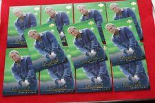 2001 UPPER DECK GOLF LEGENDS ARNOLD PALMER #59 11 CARD LOT