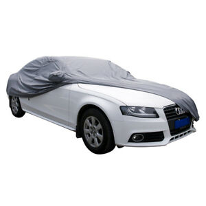 Full Car Cover * Reinforced And Quilted Material * Waterproof UV Sun Snow Dust