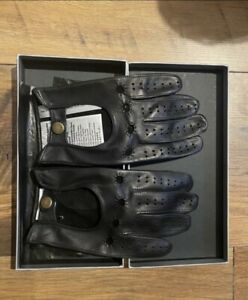 Porsche drivers leather gloves
