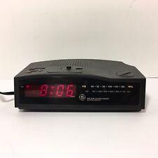 GE Alarm Clock Radio No 7-4813B AM/FM Battery Back Up LED General Electric