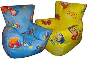 Noddy Beanbags, Children's Bean Chairs, Kids Character Beanbag Sofa's