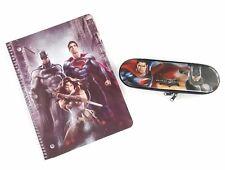 Batman Vs Superman Notebook and Pencil Case Set