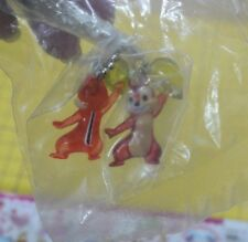 Yujin Disney Sweet Candy Mascot Magnet # Chip and Dale Heart chain 1 pair 2008