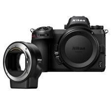 """Nikon Z6 Body with FTZ Adaptor 24.5mp 3.2"""" Brand New Agsbeagle"""