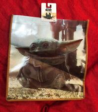 Star Wars Mandalorian Baby Yoda Trick Treat Halloween Bag Eco Grocery Shopping