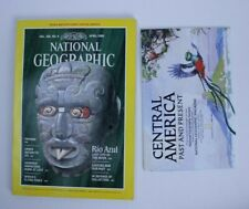 NATIONAL GEOGRAPHIC Magazine, APRIL 1986, RIO AZUL: LOST CITY OF THE MAYA!