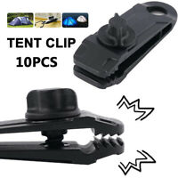 Clamp Snap Hanger Windproof Clip Tent Accessories Tent Clip Fixed Plastic Clip