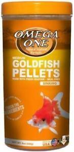Omega One Medium Goldfish Pellets 8 oz