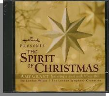 Hallmark: The Spirit Of Christmas - 2001 Amy Grant & The London Voices CD! New!