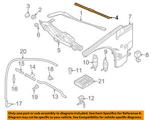 BMW OEM 08-13 128i-Wiper Blade 61610420549