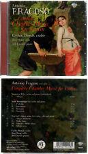 "ANTONIO FRAGOSO ""Complete Chamber Music for Violin"" (CD) Carlos Damas 2011 NEUF"