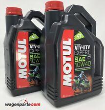 Aceite lubricante motor Quad Motul ATV-UTV Expert 4T sae 10W40 MA 8 L