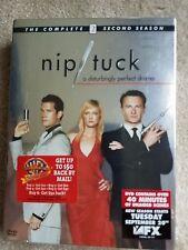 2005 NIP/TUCK - THE COMPLETE 2 SECOND SEASON - 6 DISC DVD BOX SET NEW & SEALED