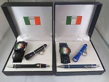 Rugby Football Bandera De Irlanda Reloj De Pulsera Antorcha & Pen Set Deportivo Reloj # 2