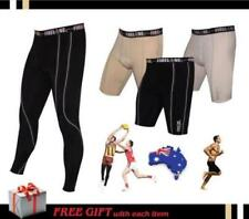 Youths Boys Mens Compression Fireline Running Tights Pants Skins Footy Shorts
