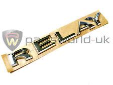 Citroen Relay Side Door Chrome Effect Badge Emblem Logo 8665Y0 Brand New