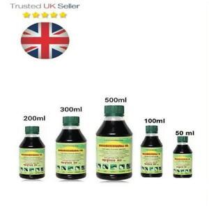 2x Maha Bhringraj Hair Scalp Growth Oil Brahmi Amla  MahaBhringraj *UK* 50-500ML