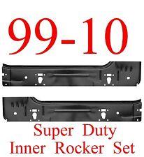 99 15 Ford Super Duty Inner Rocker Panel SET 2 Door Regular Cab, F250, F350