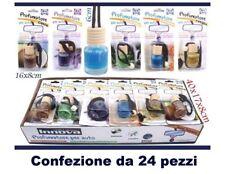 Set 24 Pezzi Boccetta Profumatore Profumo Deodorante Auto Varie Fragranze dfh