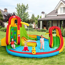 Inflatable Kids Bouncy Castle Water Slide Play House Bounce Water Park Jumping