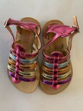 Kenneth Cole Reaction Groovy Fisherman Size 6 Toddler Girl Sandals