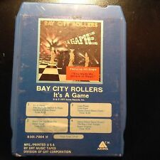"""Bay City Rollers """"It's A Game""""  8 track FREE SHIPPING"""