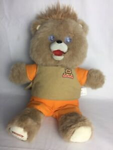 Teddy Ruxpin Bear Doll Plush Talking Bear Storytelling