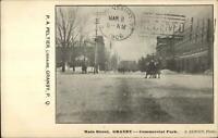 Granby Quebec Main St. Commercial Park c1910 Postcard