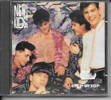 CD ALBUM 10 TITRES--NEW KIDS ON THE BLOCK--STEP BY STEP--1990
