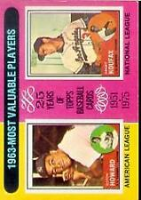 1975 Topps BB #s 201-285 MOSTLY STOCK PHOTOS A4024 - You Pick - 10+ FREE SHIP
