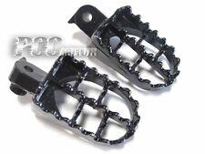 BLACK FOOTPEGS FOOT PEGS HONDA XR CRF 50 PW 50 PW50 PIT DIRT BIKE V FP02