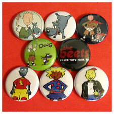 DOUG 1in button pinbacks FUNNIE NICKELODEON COMEDY