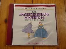 Bach: Brandenburgische Konzerte 4- 6 Maurice Andre Lorin Maazel, Rsob