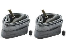 Par De 12 1/2 X 2 1/4 Tubos Internos Tipo Coche Schrader Válvula de tallo largo cochecito cochecito de niño