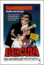 Horror: Blaxploitation: * Blackula * Movie Poster 1972