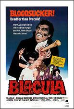 Horror: Blaxploitation: * Blackula * Movie Poster 1972